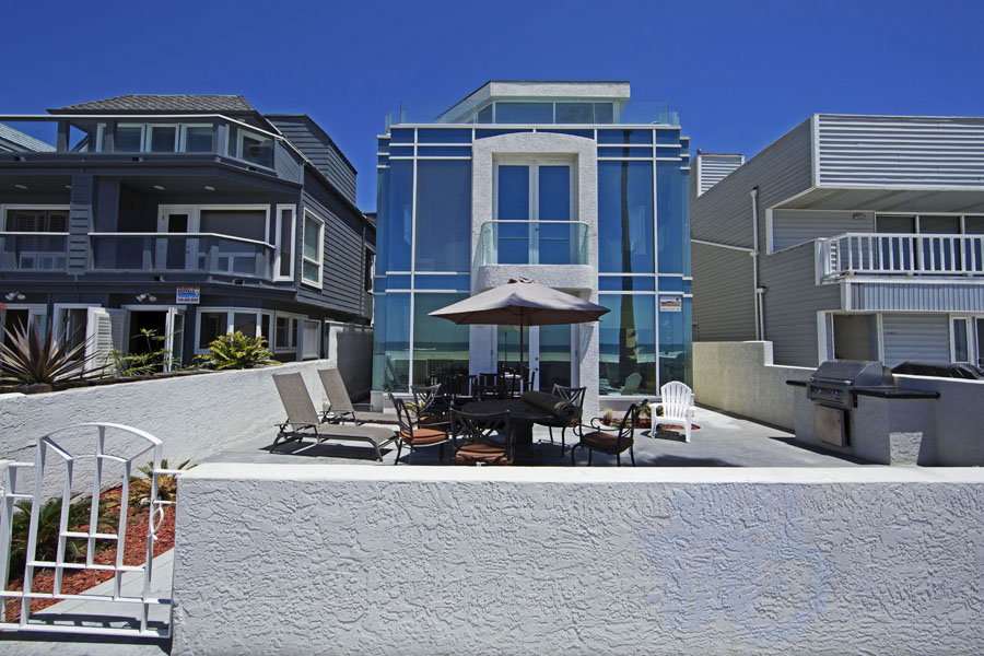 South Mission Oceanfront Penthouse Beautiful Condo W Garage And Laundry San Diego Vacation