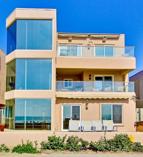 San Diego House Rentals On The Beach: Belmont Sun San Diego Vacation Rentals Details
